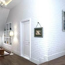 Modern Wall Coverings Bedroom Embossed Brick Paper Vintage Stone Wallpaper Covering  Ideas