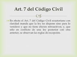 artigo 7 codigo civil