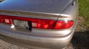 2004 Buick Lesabre License Plate Light How To Take Off The Tailight Assembly On A 1997 2001 Buick Century