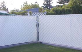 Plain Chain Link Fence Slats Privacy Intended Decorating