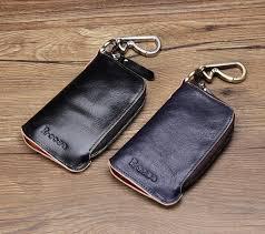 brand new genuine leather key case car key wallet luxury gift for men women housekeeper