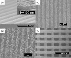 On By Printing An - Agarose And Patterned Of Nanoparticles Planar Direct Stamp Iopscience Silver Substrates