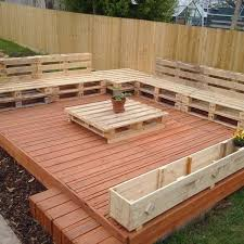 pictures of pallet furniture. in this picture beautiful recycled pallet floating deck idea is shown which for your outdoor pictures of furniture e