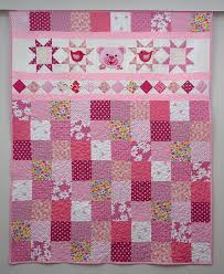 69 best Sewing lady´s quilting images on Pinterest | Jelly rolls ... & Quilt for Girls Pink Patchwork Quilt Nursery Bedding Cute Adamdwight.com