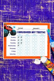 Blaze Teeth Brushing Chart Nickelodeon Parents