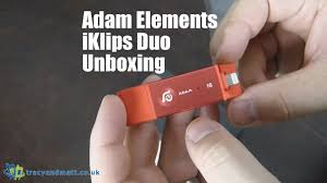 <b>Adam Elements</b> iKlips Duo Unboxing - YouTube