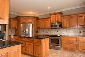 Cherry Shaker Kitchen Cabinets Best Finish For Natural Steel Kitchen