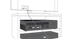 connect xbox one to your home theater or sound system xbox one console connected to tv and to cable or satellite box
