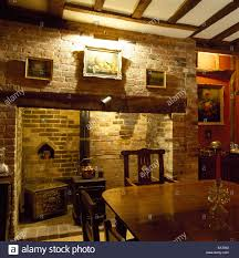 country style dining rooms. A Traditional, Country Style Dining Room, Inglenook Fireplace, Table And Chairs, UK Rooms E