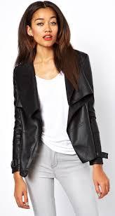 river island waterfall leather jacket