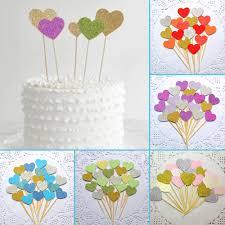 At 40 Party Decorations Aliexpresscom Buy 40pcs Diy Lighting Birthday Cake Topper