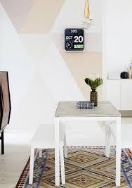 Wand Streichen Muster Ideen Esszimmer Beige Cappuccino