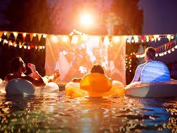 How To Host A Backyard Movie Party  DIY For LifeMovie Backyard