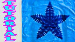 Tie Dye Patterns Star
