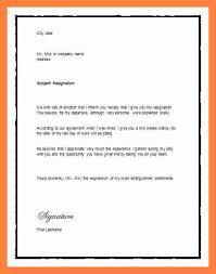 samples of resignation letter resignation letter relocation  resignation letter formal 2 weeks notice