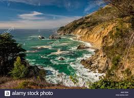 Pacific Coast Landscape Design Inc Usa Pacific Coast Landscape California Stock Photo