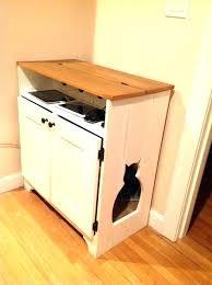 litter box house cat hider kitty furniture design ideas