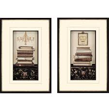 set of two framed wall art