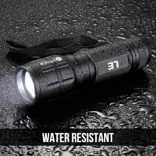 Lighting Ever 1200012 Le Small Led Flashlight Super Bright Led Tactical Torch Light Adjustable Brightness For Camping Running And More Pack Of 4