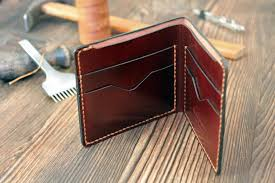 leather wallet personalized wallet anniversary gift for him slim wallet mens wallet front pocket wallet minimalist wallet thin wallet e