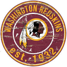 washington redskins 23 5 distressed round sign on redskins metal wall art with washington redskins wall decor home office wall sign banner