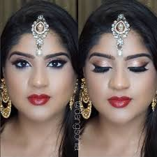 bollywood indian south asian bridal makeup tutorial golden smokey eye