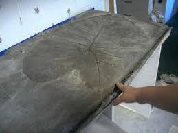 redneck mansion kitchen remodel concrete countertop
