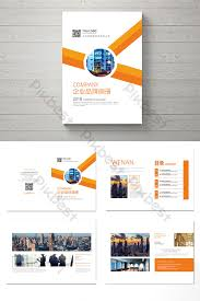 Simple Creative Layout Enterprise Complete Brochure Design