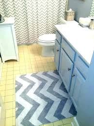 bath rug runner chevron mat rugs set 20 x 60