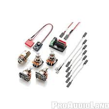 emg solderless wiring kit for 1 2 for active pickups new ebay Active Pickup Wiring emg solderless wiring kit for 1 2 for active pickups new active pickup wiring diagram