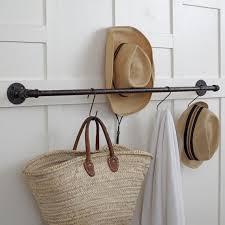 Plumbing Pipe Coat Rack Custom Plumbing Pipe Storage Bar Towel Bar Pot Rack Coat Rack Etsy