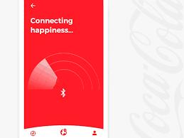 Vending Machine App Impressive Coca Cola QR Bluetooth Pay Vending Machine App By Mikibrei Dribbble