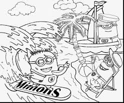 Small Picture stunning minion beach coloring pages with minions coloring pages