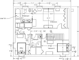 modern office floor plans. Designs Spacious House Floor Plan Office Modern Icf Home Plans E