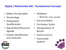 Osac Outcomes And Action Items Richard Vorder Bruegge, Digital ...