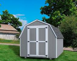 little cottage company barn style storage shed kits