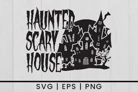 Home > halloween wallpapers > page 1. Halloween Haunted House Svg Vector Graphic By Damasyp Creative Fabrica