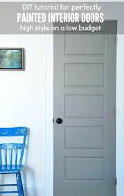 interior door painting ideas. Interior Door Colors Want To Get A Factory Finish On Your Doors  Here Are My . Painting Ideas