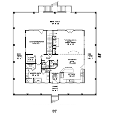 vacation house plan first floor 087d 1557 house planore