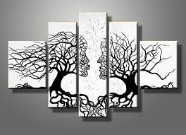 awesome 2017 100 handpainted unstretched acrylic abstract canvas wall art with regard to canvas wall art sets ordinary  on set of three framed wall art with impressive kiss tree canvas gallery wrap wall art set painting