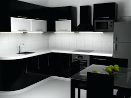 White Kitchen Cabinets With Black Countertops Awesome Black Kitchen Ideas 48 Black White Kitchen Cabinets With Black