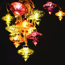 moroccan inspired lighting. Moroccan Inspired With Attractive Glass Shades, The Colourful Kasbah String LED Fairy Lights Are Ideal For Decoration Or Christmas. Lighting .