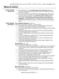 Sample Advertising Manager Resume Resume Examples Vendor