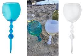 aldi s unique wine glass will revolutionize your next trip to the beach brit co