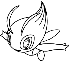 Small Picture Celebi Pokemon Coloring Pages Pokemon Coloring Pages