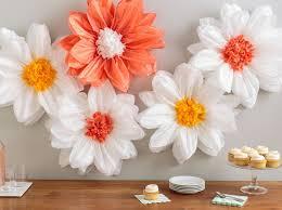 Martha Stewart Paper Flower Tissue Paper Flowers Martha Stewart