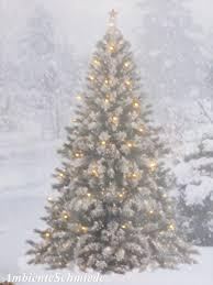 Led Bild Weihnachtsbaum Tannenbaum Wald Schnee Deko