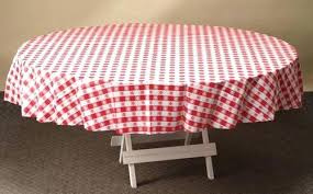 in round tablecloth red gingham plastic tablecloths inch x 84 108