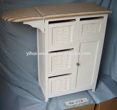 mutil-drawers wooden ironing board with cabinet ironing board storage  cabinet