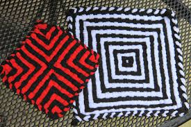 Potholder Loom Patterns Enchanting Today's Creations Pot Holders On A Loom Taking Them To The Next Level